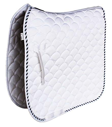Professional Equine Horse Quilted English Saddle PAD Trail Dressage 7295WH