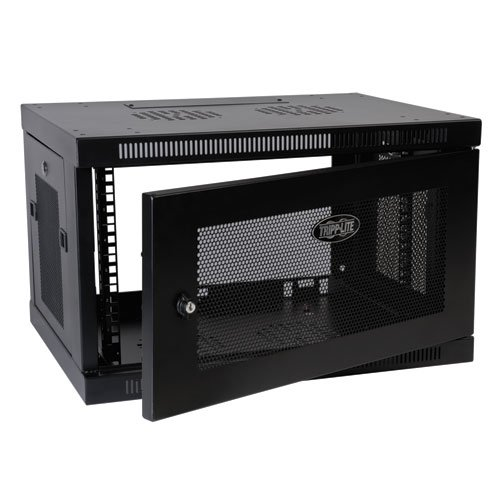Tripp Lite 6U Wall Mount Rack Enclosure Server Cabinet, 16.5'' Deep, Switch-Depth (SRW6U) by Tripp Lite (Image #3)