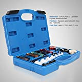 Orion Motor Tech 22pcs Master Quick Disconnect Tool Kit for Automotive AC Fuel Line and Transmission Oil Cooler Line, Includes Scissor Type Remover, Compatible with Most Ford Chevy GM Models