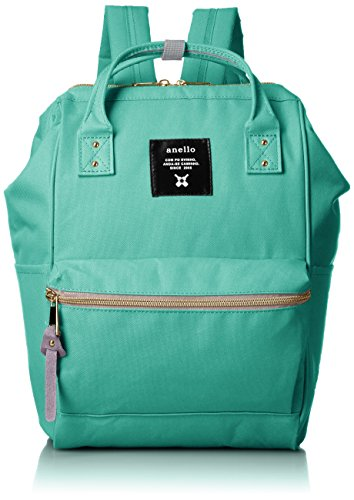 Japan Anello Backpack Unisex MINI SMALL EMERALD GREEN Rucksack Waterproof Canvas Bag by Anello