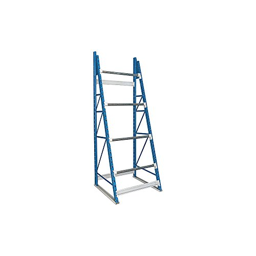 Hallowell Shelving, 10 Ft 3 In H - Reel Rack With 4 Axle Bracket Pairs - Starter, Rr-Dg-Xs, W X D X H: 36 X 36 X 123