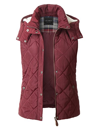 Quilted Sleeveless Vest - 3