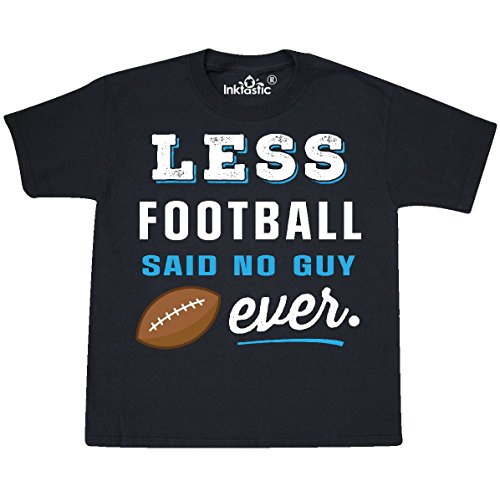 inktastic - Funny Football Addict Youth T-Shirt Youth Small (6-8) Black 2e1af