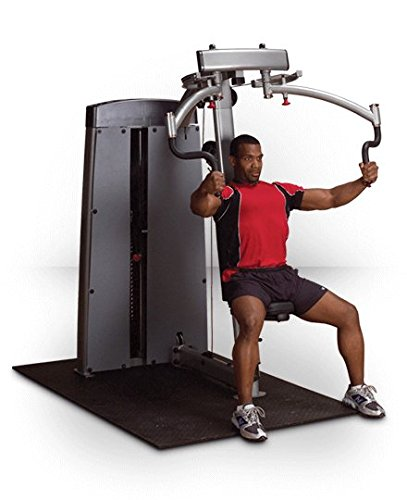 Body-Solid DPEC-SF Pro Clubline Pro Dual Adjustable PEC and Rear Delt Machine with 360-Degree Rotating Handles, Gas-Assisted