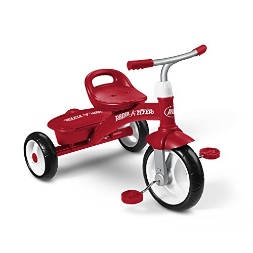 Radio Flyer Red Rider Trike (Amazon Exclusive) (Kiddo Smart Design 4 In 1 Trike)