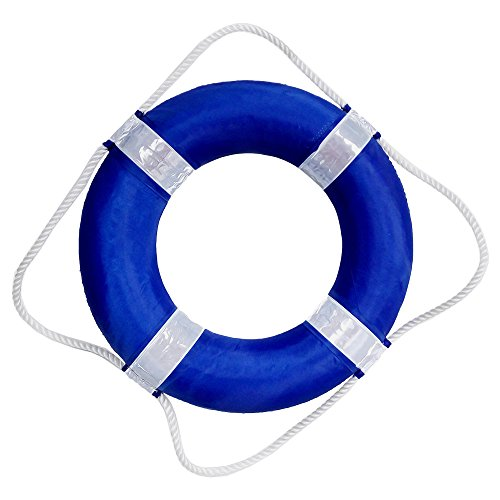 - Blue Wave Foam Pool Swim Ring Buoy