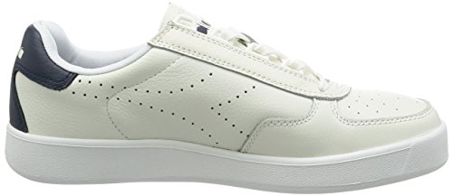 Low Premium Men's Bianco L Elite B Sneakers Top Diadora TxnHpq