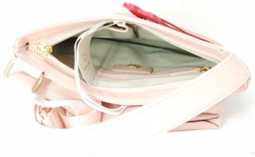 Pale RRP Bag Pink Radley Medium Leather Ziptop Acrossbody 'Dium' in 4Ryq0Pa