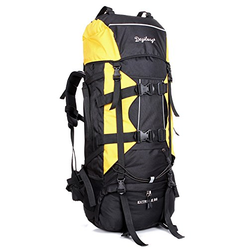 Chassis Paket Klettern Outdoor Rucksack wasserdichte Taschen Geschenk Nylonstoff Bewegung Schultern Paket, Deep Blue