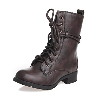 Womens Alice-2 Mid-Calf Lace-Up Boots