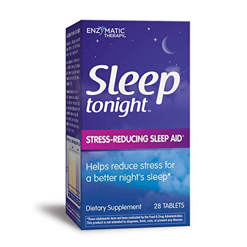 Enzymatic Therapy - Sleep Tonight, Stress-Reducing Sleep Aid, 28 Tablets
