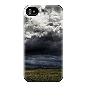 Perfect Dark Clouds Rolling In Cases Covers Skin For Iphone 6 Phone Cases