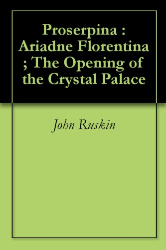 Proserpina : Ariadne Florentina ; The Opening of the Crystal Palace (Engraving Palace)