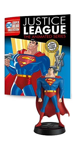 Eaglemoss DC Super Hero Collection: Justice League The Animated Series #1: Superman Resin Figurine ()