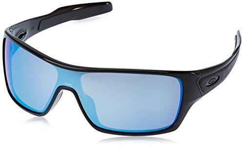 4ae7e3c5c71c4b Oakley Turbine Rotor Sunglasses, Polished Black, Prizm Deep Water Polarized