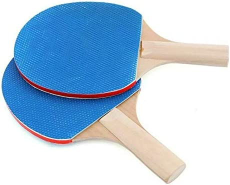 Sports Club 3 Balls for for Kids Adults Indoor Outdoor Game Fits Home School Set of 2 Bats Office MUXILOVE Table Tennis Set,Portable Instant Ping Pong Set with Retractable Net