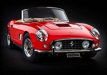 1961 Ferrari 250 Gt Swb California Spyder In Red By Cmc Amazon De Spielzeug
