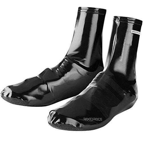 Madison RoadRace PU Lycra Aero Overshoes Black XX-Large