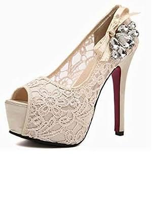 Beige Heel For Women