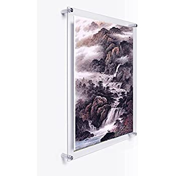 Amazon.com: Yakri A4 Wall Mounted Acrylic Plexiglass Poster Frames ...