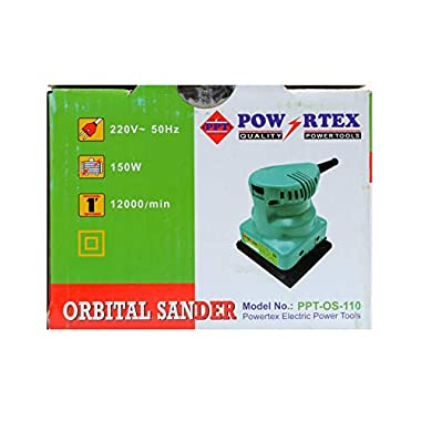 POWERTEX Orbit Sander (PPT-OS-110) 12