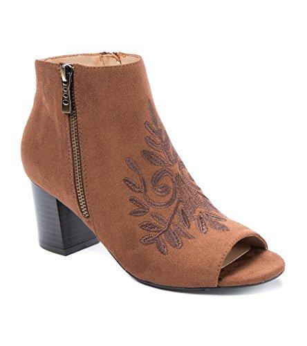 Andrew Geller Spinda Womens Boots Rusten Brun