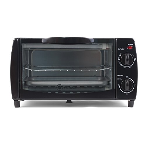 Cheap Westinghouse WTO1010B 4-Slice Toaster Oven, 10-Liter, 14.57