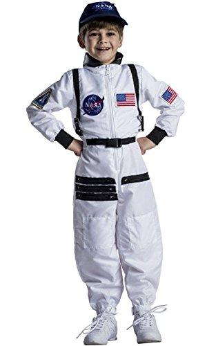 Space Marine Costume (NASA Astronaut Space Suit White Toddler Child Costume)