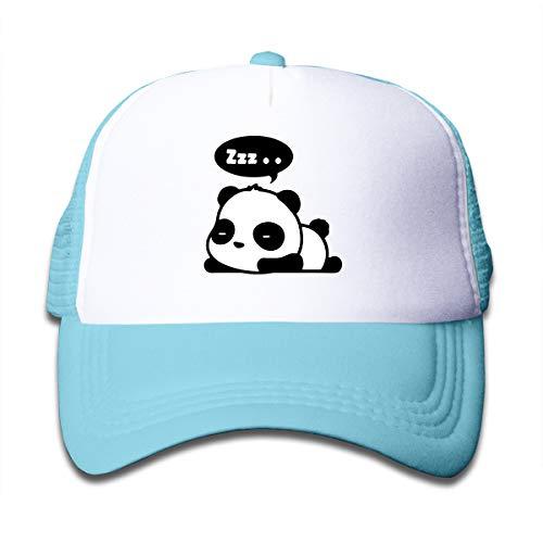 SFT Kid's Cute Panda Zzz Sleeping Trucker Baseball Cap Adjustable Mesh Hat Girl Boy
