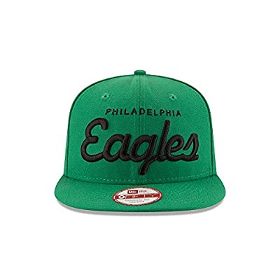 Philadelphia Eagles Historic Script Snapback Hat / Cap