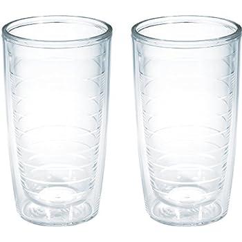 Amazon.com   Tervis Tumbler (Set of 2), 16 oz, Clear: Tumblers
