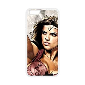adriana lima superhero iphone 6s 4.7 Inch Cell Phone Case White cover xlr01_7700043