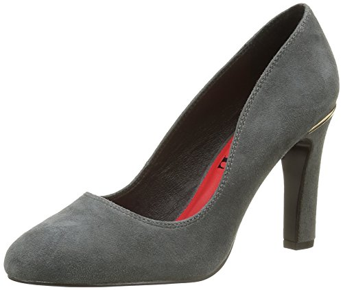 Elle Carnot, Women's Ankle Strap Grey (Gris Foncé)