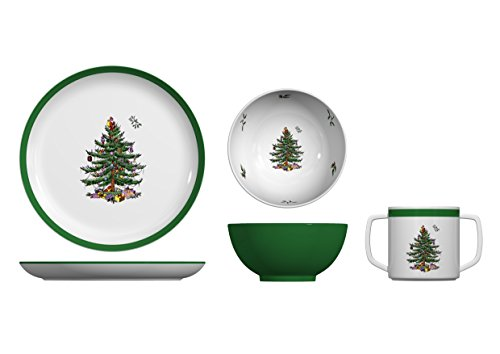 Spode Christmas Tree Melamine Child Set