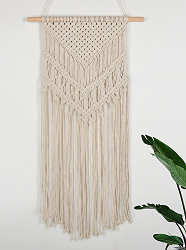 Seamersey Macrame Woven Wall Hanging Tapestry Boho Home and