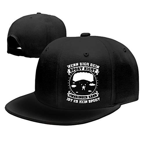 Rosventur Sport-Fallschirmspringen Plain Adjustable Cowboy Cap Denim Hat for Women and Men (Fallschirmspringen Shop)
