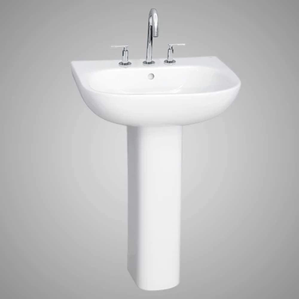 Galena 200 Vitreous China Pedestal Sink