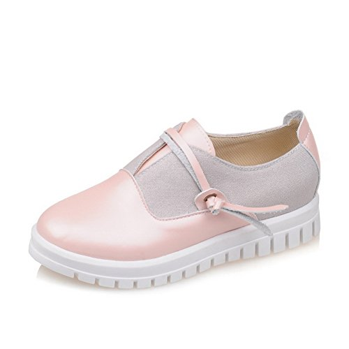 Ladies Assorted BalaMasa Pink Urethane Shoes Oxfords Toe Platform nbsp;Color Round O7w5wqd
