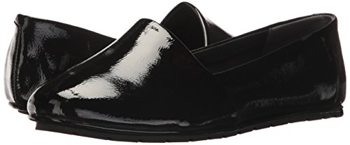 YorkJordyn Reinschlüpfen Damen Cole Kenneth Mokassin Flat Flach Moccasin Zum Leather Slip New Leder Black Patent on Jordyn S7Eq7T