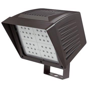 ATLAS LIGHTING PFXL126LEDS 126W LED Power Flood Fixture w/Slipfitter