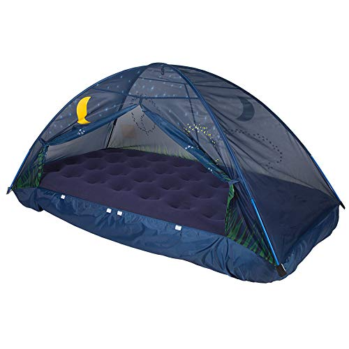 Pacific Play Tents Glow in The Dark Firefly Bed Tent Playroom and Bedroom Furnishings for Ages 3 to 7