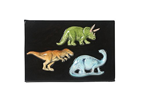 Sax 1463513 Dinosaur Spring Mold Pack, Assorted Size, Natural by Sax