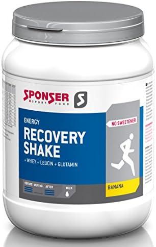 Sponser Recovery Shake 900g Dose Schokolade Sportgetränk Fitness Regeneration, 03-522