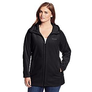 Columbia Women's Plus-Size Benton Springs II Long Hoodie Plus, Black, 2X