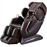 Fitness_Hub Alpha L-Track Roller Design for Under Buttocks, Space Saving Feature, Zero Gravity Position, Foot Rollers Full Body Massage Chair