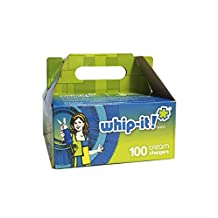 Whip-it! Whipped Cream Chargers (100 Pack), White