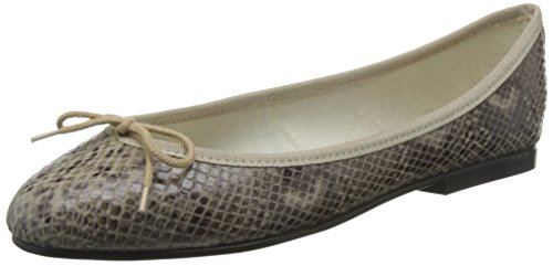 French Sole India Snake Effect - Bailarinas para mujer Beige