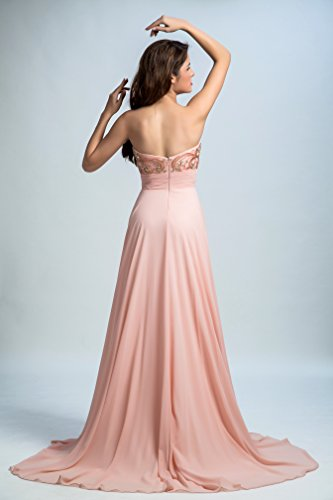 Bridal_Mall - Robe - Trapèze - Sans Manche - Femme -  - 34