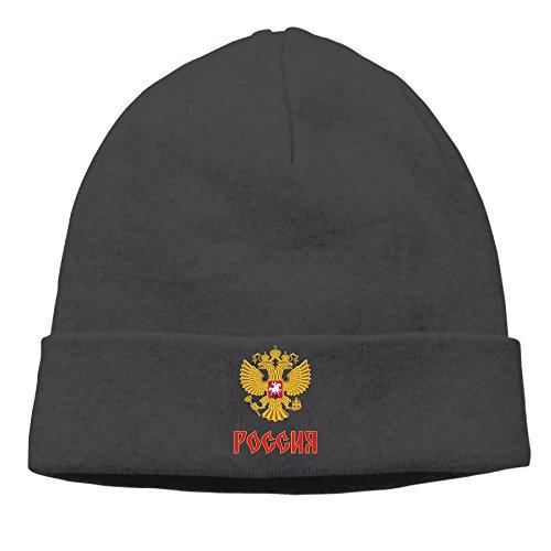 Team Russia 2016 World Cup Of Hockey Logo Knit Beanie Watch Cap