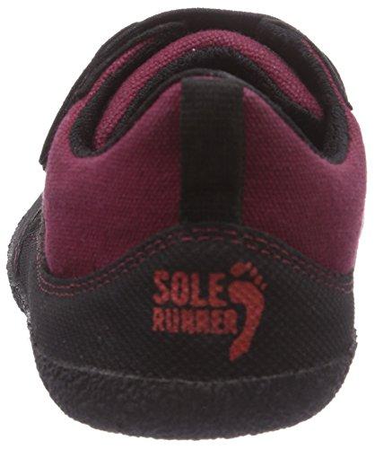 red Mixte black Runner Puck Basses 50 Enfant Sneakers Sole Rouge 0BFIwxRI